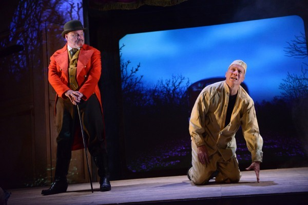 Norman Pace and Peter Duncan in Charlie Peace - picture by Robert Day