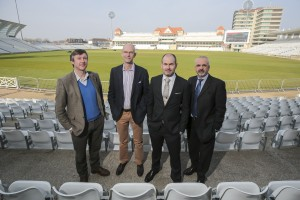 L to R -James Walker, Hugh White,  Simon Gray  and Peter Askew