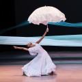 Alvin Ailey American Dance  Theater- Jacqueline Green in Alvin Ailey's Revelations. Photo by Paul  Kolnik. (horizontal)