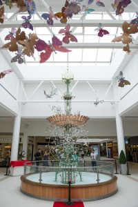 Butterfly project at intu Victoria Centre
