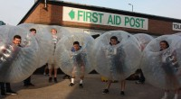 Students from Nottingham were seen running, rolling and bouncing around the pitch at Meadow Lane last night in a hilarious game of bubble football – all in the name of […]