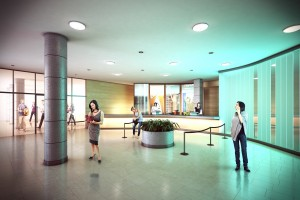 Royal Transformation Project -  Royal Concert Hall Box Office foyer