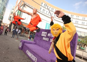 Members of Chinese State Circus perform at Summer Sofa RS