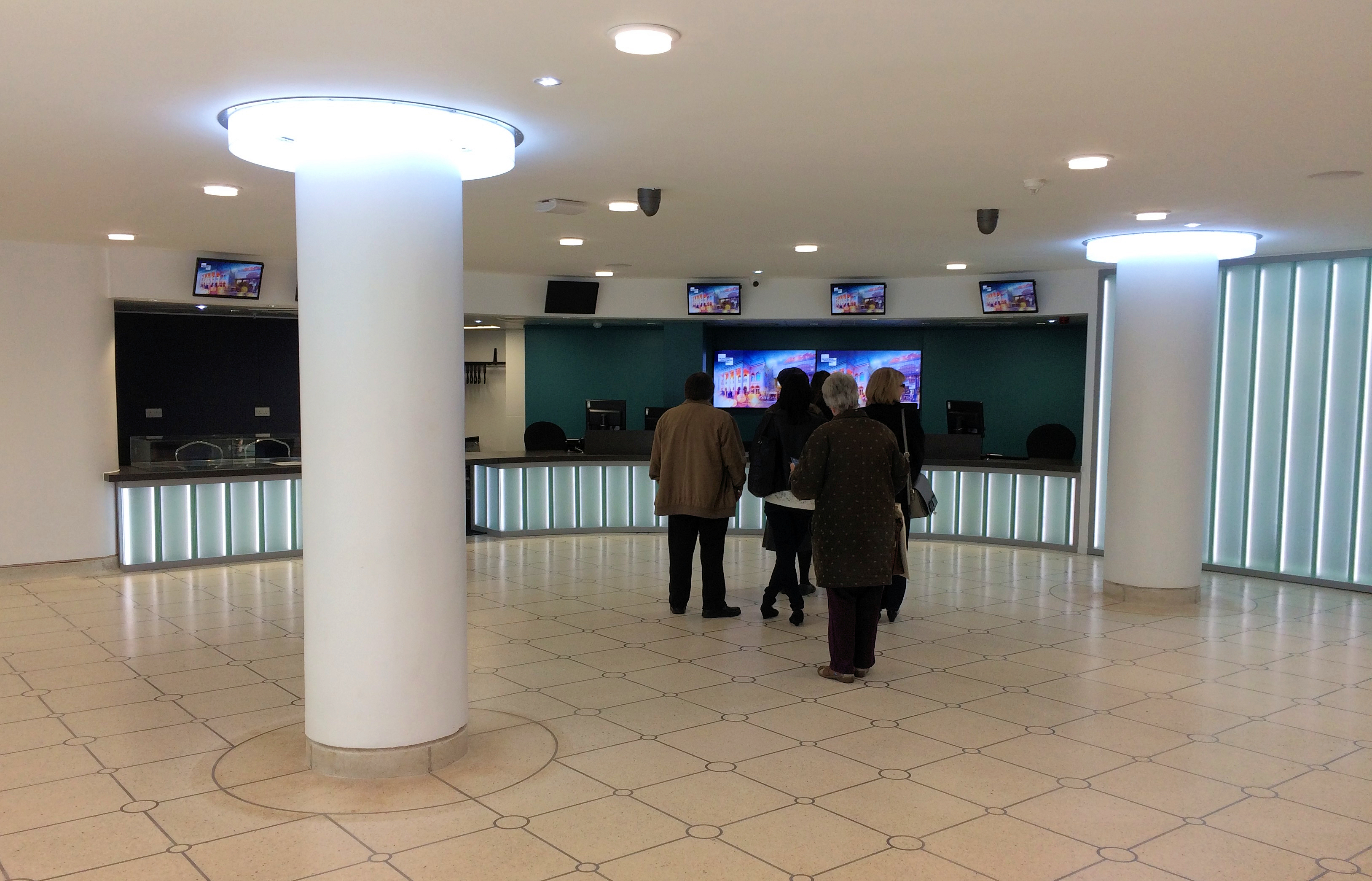 Western Foyer Box Office : Theatre royal concert hall s box office re opened for