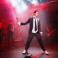 Deco (Brian Gilligan), in The Commitments, photo credit Johan Persson (resized)