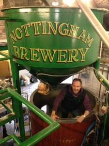 James Simmonds from UHY Hacker Young at Nottingham Brewery