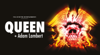 TICKETS ON SALE 10AM FRIDAY 21 APRIL Just weeks after announcing a 26-date summer tour of North America, Queen + Adam Lambert today revealed further live plans for 2017 […]