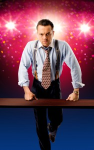 The Wedding Singer UK Tour - Ray  Quinn as Glen  - credit Darren Bell