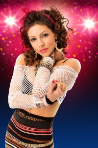 The Wedding Singer UK Tour -  Roxanne Pallett as Holly - credit Darren Bell (2)