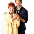 The Wedding Singer UK Tour - Ruth  Madoc as Grandma Rosie and Jon Robyns as Robbie Hart - credit Darren  Bell