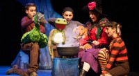 This weekend sees Julia Donaldson's wonderful Room on the Broom brought to life on the stage by Tall Stories productions. Whilst we took to our seats the cast wandered […]
