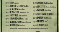 This coming winter Beans on Toast and Skinny Lister will head out on a co-headline tour of the UK. Label mates, touring buddies and drinking companions they make a […]