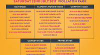 Official stage times for all five stages at Splendour, taking place at Wollaton Park on 22 July, have now been revealed.   Doors open for the city's biggest […]