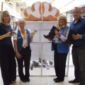 intu and Shoe Aid staff launch 'giving box'