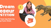 Children aged 11 and under have the chance to win a giant bean bag featuring their drawing of their 'dream dinosaur' by entering a competition that is being run […]