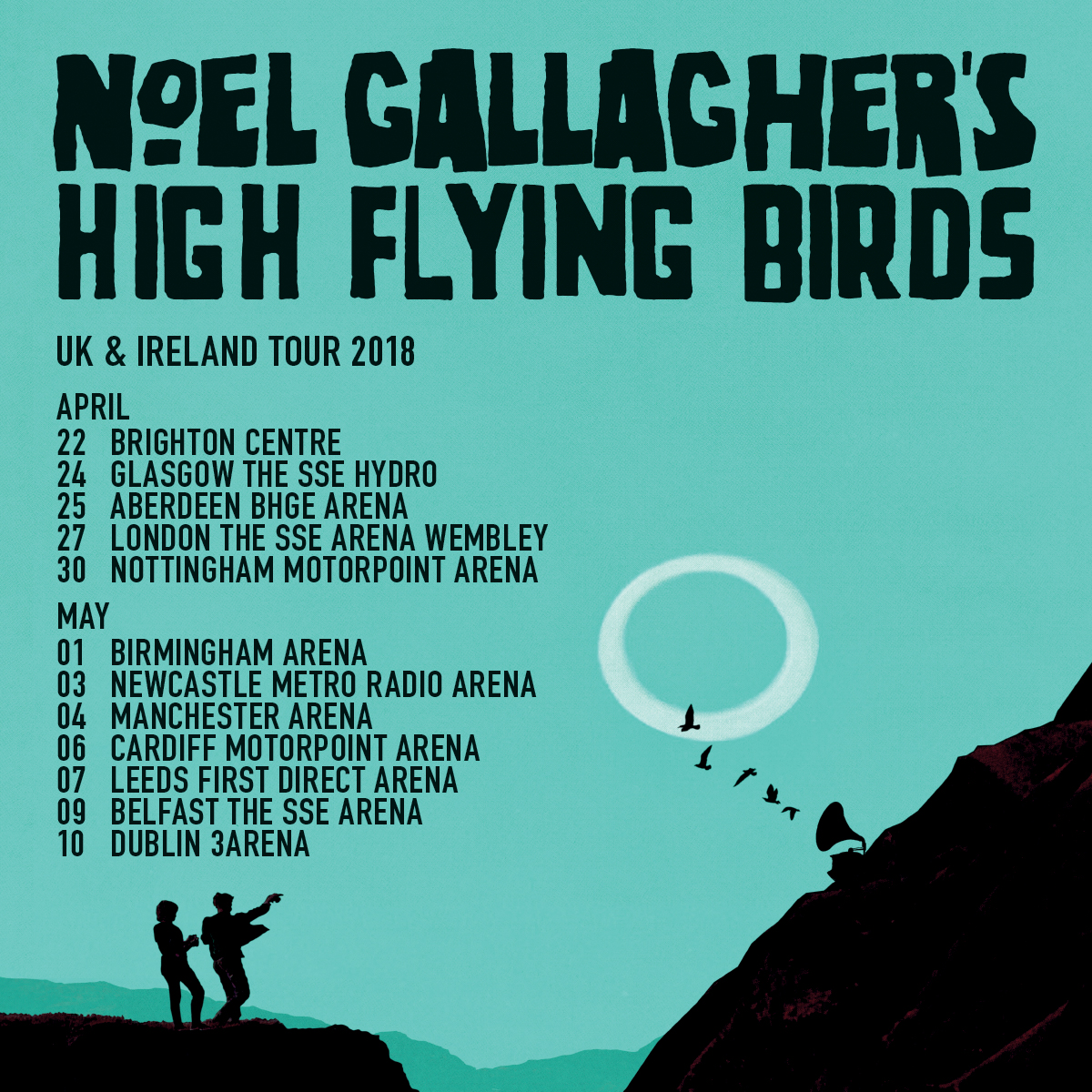 noel gallagher 2018 tour dates Music: Noel Gallagher's High Flying Birds Announce Date At  noel gallagher 2018 tour dates