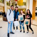 Students at intu Victoria Centre's autumn student night
