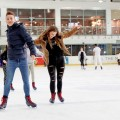 Skaters at the National Ice Centre