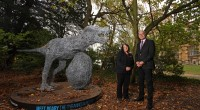 A large Tyrannosaurus-Rex sculpture made from galvanised steel is taking pride of place at Wollaton Park after being donated by the Nottingham BID. The frightful fiend was used as part […]