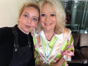 Sherrie Hewson and Tanya