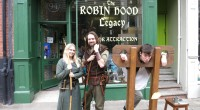Share this content....  'Greetings good travellers'      I arrive at the Robin Hood Legacy just as a huge poster with our famous Nottingham folklore hero is being unravelled.   […]