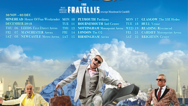 """Share this content.... """"THE HILLS ARE ALIVE WITH THE SOUND OF MADNESS!!"""" Britain's favourite pop band Madness will be embarking on a major UK arena tour this December and will […]"""
