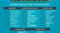 The long wait is over and with one week to go until Nottingham's biggest day out returns, stage times for the special 10th anniversary of Splendour have been revealed. […]
