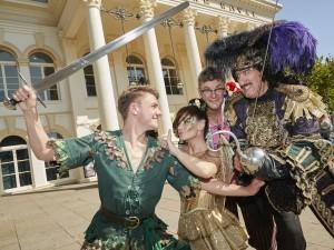 Peter Pan 2018 launch Jack McNeill, Lucy Evans, Joe Pasquale, John  Challis_H0I4124
