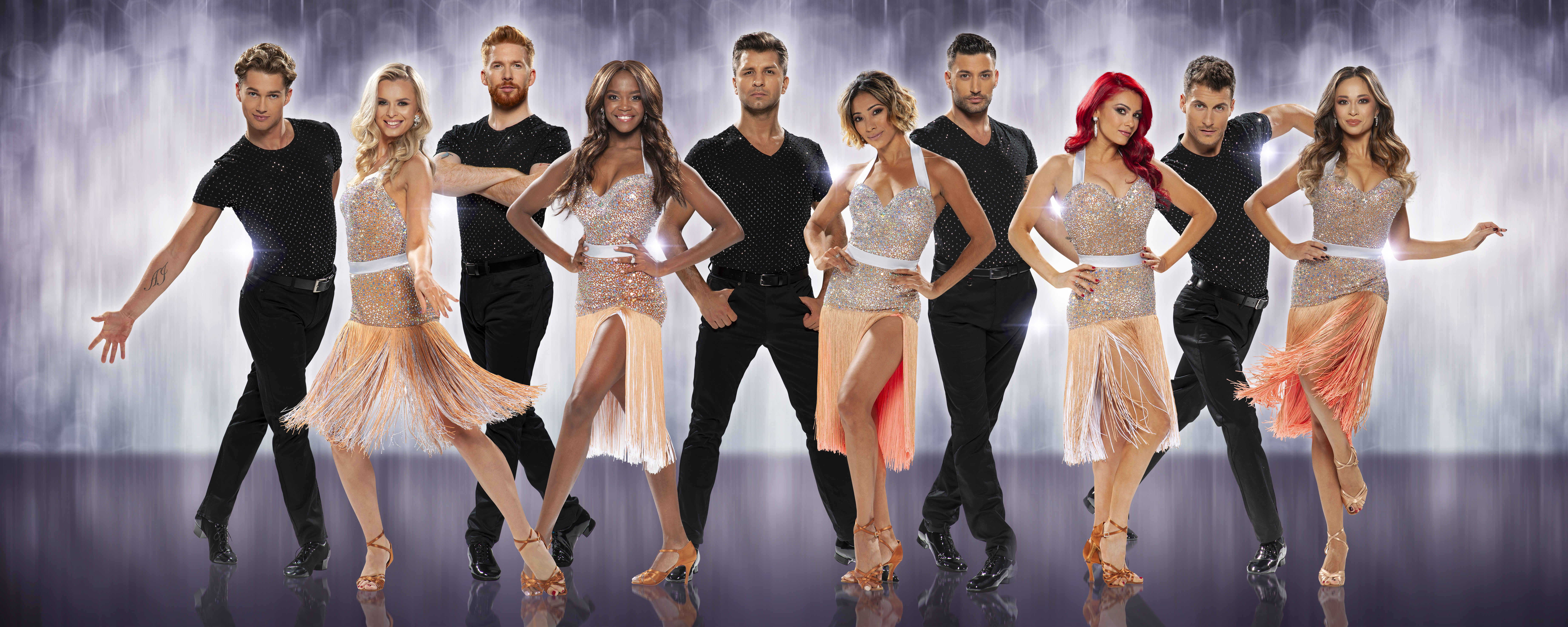 Strictly Come Dancing - The Professionals UK Tour 2019 line up  image