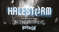 GRAMMY-WINNING GROUP HALESTORM ANNOUNCE NEW UK ARENA TOUR, CELEBRATING WOMEN IN ROCK   WITH SPECIAL GUESTS IN THIS MOMENT AND NEW YEARS DAY Having sold out every date on […]