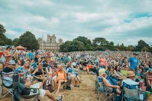 Festival site at Splendour 2018 - credit Ami Ford