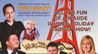 Stars of Blackpool brings summer holiday fun to Bonington Theatre Theatregoers will forget the wet, windy winter on Tuesday 5 March, as some of Blackpool's favourite performers present a traditional […]
