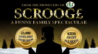 Share this content....  SCROOGE A FUNNY FAMILY SPECTACULAR AT THE MOTORPOINT ARENA NOTTINGHAM SATURDAY 28 DECEMBER 2019   EARLY BIRD TICKETS ON SALE NEXT WEEK   £3,000 CASH GIVEN AWAY […]
