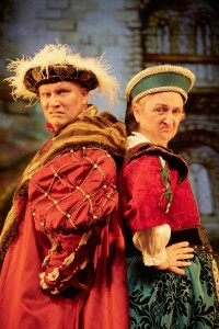 3 Terrible Tudors by Birmingham Stage Company. Photo by Mark  Douet