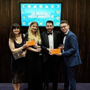 impression uk biddable media awards