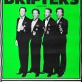 The Drifters poster TR Nottm 1986