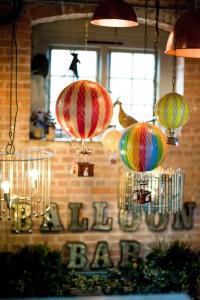 The Balloon Bar interior - credit Rachael Connerton Photography