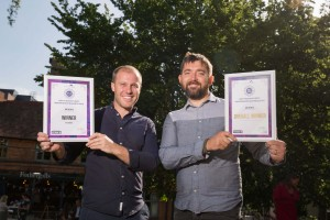 Winners of the Restaurant category & Overall Winner - Bar Iberico. Dan Lindsay & Jacque Ferreira  (1)