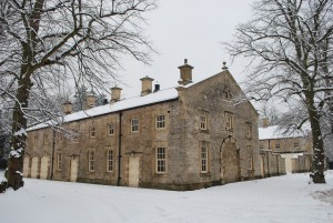 The School of Artisan Food in the snow