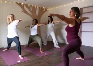 Yoga at Sunita Passi Wellness Centre, Engine Yard, Belvoir