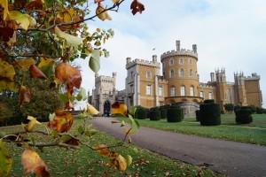 Belvoir Castle exterior - Autumn