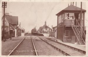 Lowdham Station (photographer Spree) - Spree died 1932