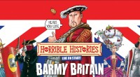 Tickets on-sale 8am, Monday 22nd Feb From www.carparkparty.com starting from £39.50 (+ £2.50 booking fee)    Due to the demands of children (and their parents) across the land, HORRIBLE HISTORIES – BARMY BRITAIN is back to […]