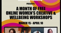 Arts Led Workshops Brought Forward After 'Challenging Week' for Women Present – 10 April 2021 A month of free workshops for women presented by the all female collective Sugar […]