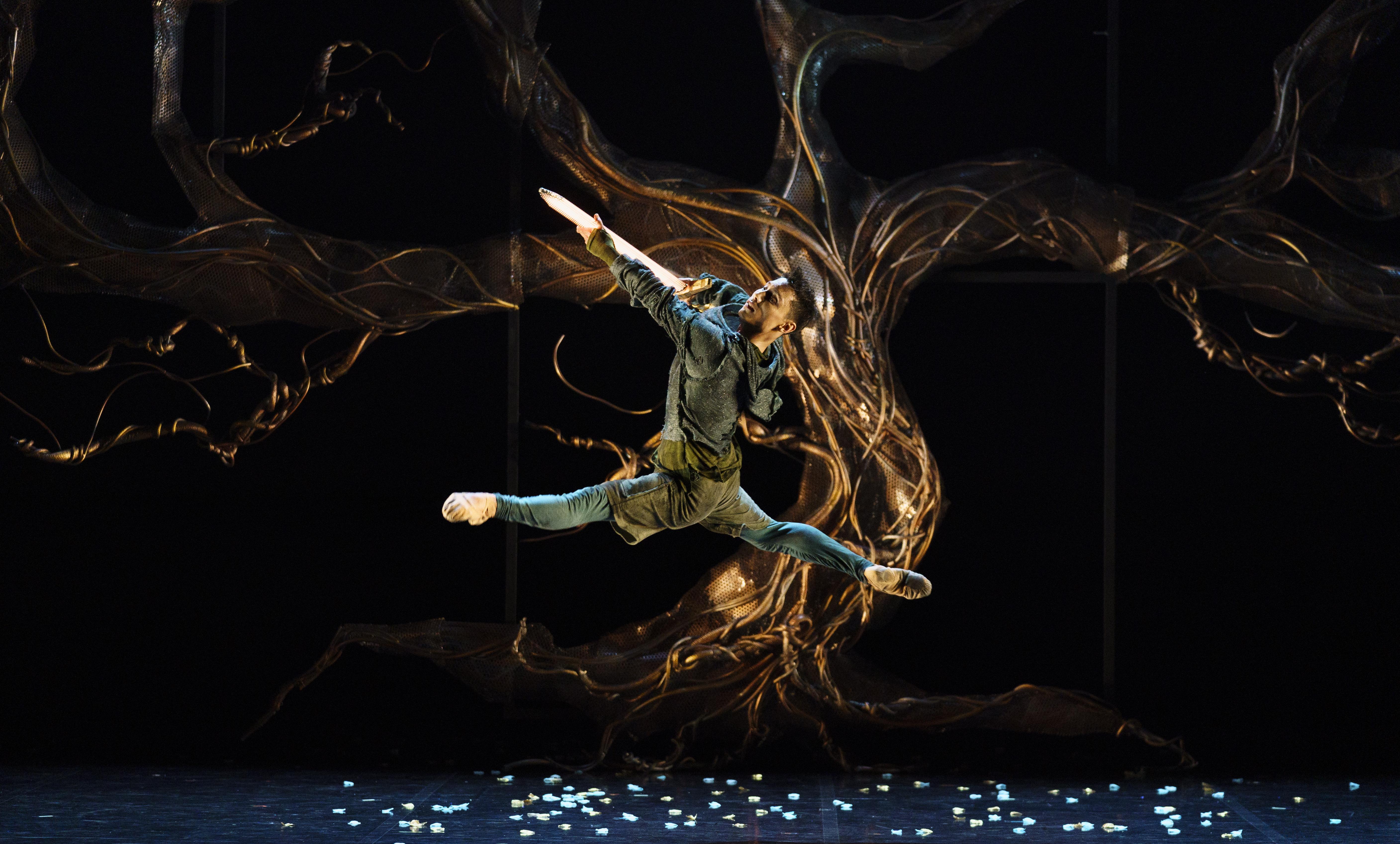 Kevin Poeung in Merlin. Photo Emma Kauldhar