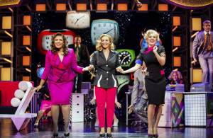 14. 9 to 5 The Musical. Vivian Panka 'Judy', Louise Redknapp 'Violet' and Stephanie Chandos 'Doralee'. Pamela Raith Photography